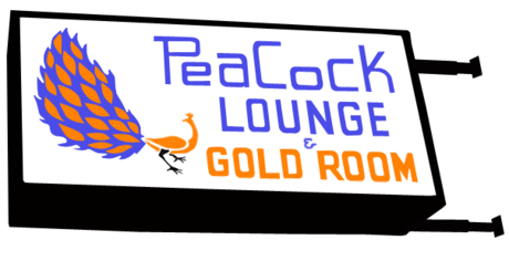 Peacock Lounge logo